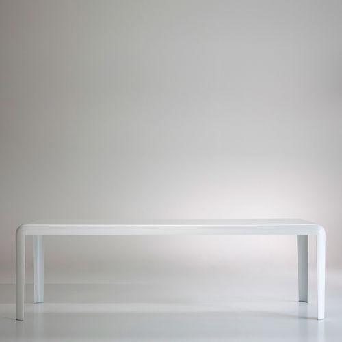 mesa moderna / en chapas / rectangular / cuadrada