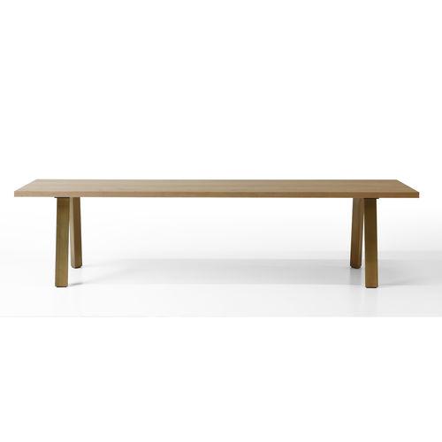 mesa moderna / de madera / rectangular / de Piero Lissoni