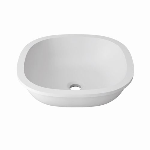 Lavabo bajo encimera / de Krion® / moderno / profesional B604 38X38 E SYSTEMPOOL -  KRION® Porcelanosa Solid Surface