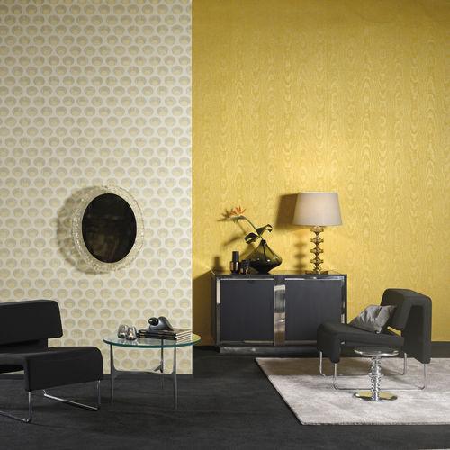 Revestimiento de pared de tela / para uso residencial / decorativos no tejidos motivo / aspecto papel pintado SHALIMAR Omexco