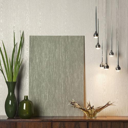 papel pintado moderno / de fibras vegetales / con motivos / sin tejer