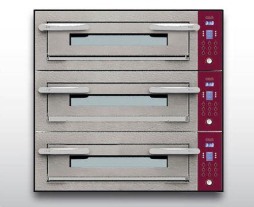 Horno eléctrico / para uso profesional / para pizzas / con 3 cámaras OPTYMO CONCEPT: 435/3 CEMENT OEM - Pizza System