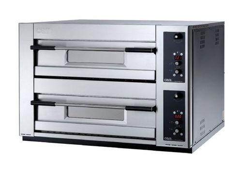 Horno eléctrico / para uso profesional / para pizzas / con 2 cámaras MB 12.35 LE OEM - Pizza System