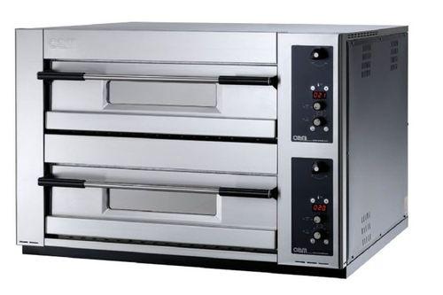 Horno para uso profesional / eléctrico / para pizzas / con 2 cámaras MB 8.35 E OEM - Pizza System