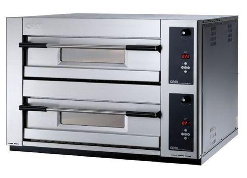 Horno eléctrico / para uso profesional / para pizzas / con 2 cámaras MB 12.35 LD OEM - Pizza System