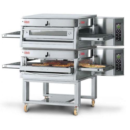 Horno de gas / para uso profesional / doble / de convección HV/50-G/2 OEM - Pizza System
