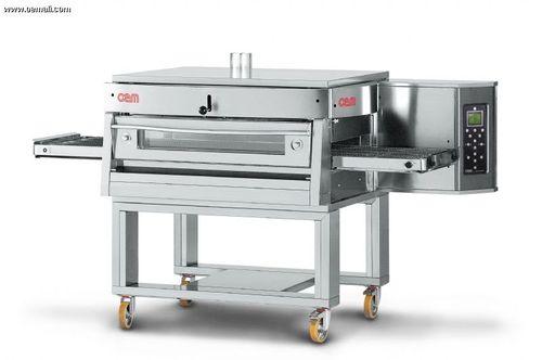 Horno de gas / para uso profesional / para pizzas / de pisos HV/75-G/1 OEM - Pizza System