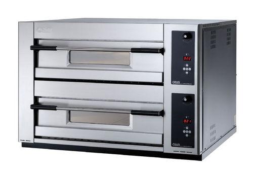 Horno eléctrico / para uso profesional / para pizzas / con 2 cámaras MB 12.35 SD OEM - Pizza System