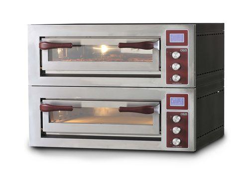 Horno eléctrico / para uso profesional / para pizzas / con 2 cámaras PULSAR 435-2 OEM - Pizza System