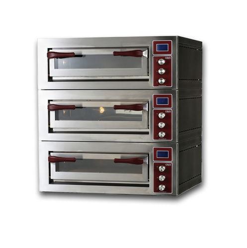 Horno eléctrico / para uso profesional / para pizzas / con 3 cámaras PULSAR 435-3 OEM - Pizza System