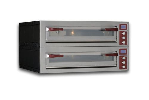 Horno para uso profesional / eléctrico / para pizzas / con 2 cámaras PULSAR 635L-2 OEM - Pizza System
