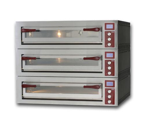Horno para uso profesional / eléctrico / para pizzas / con 3 cámaras PULSAR 635L-3 OEM - Pizza System