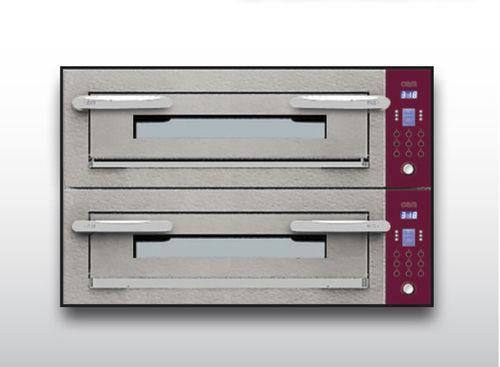 Horno eléctrico / para uso profesional / para pizzas / con 2 cámaras OPTYMO CONCEPT: 435/2 CEMENT OEM - Pizza System