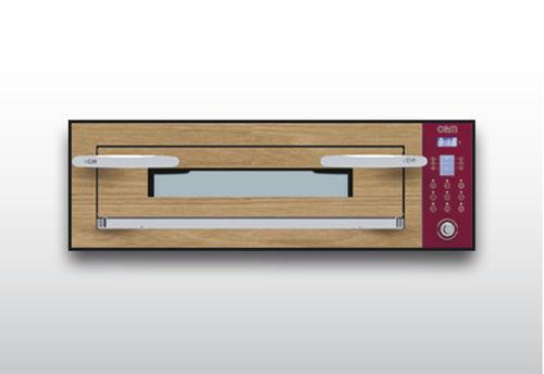 Horno eléctrico / para uso profesional / de pisos / con 1 cámara OPTYMO CONCEPT: 435/1 WOOD OEM - Pizza System