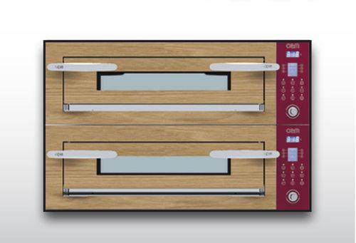 Horno eléctrico / para uso profesional / para pizzas / con 2 cámaras OPTYMO CONCEPT: 435/2 WOOD OEM - Pizza System