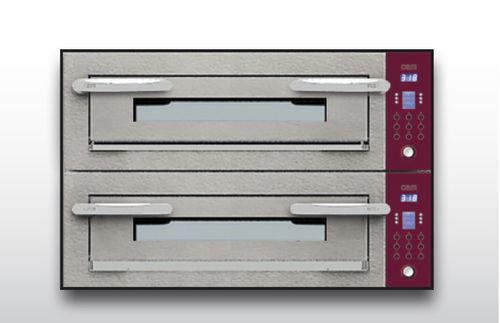 Horno eléctrico / para uso profesional / para pizzas / con 2 cámaras OPTYMO CONCEPT: 635S/2 CEMENT OEM - Pizza System