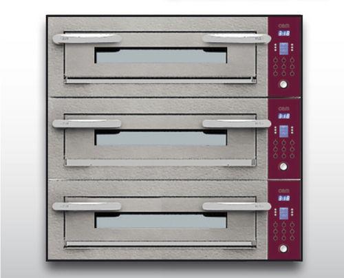 Horno eléctrico / para uso profesional / para pizzas / con 3 cámaras OPTYMO CONCEPT: 635S/3 CEMENT OEM - Pizza System