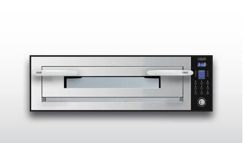 Horno eléctrico / para uso profesional / para pizzas / con 1 cámara OPTYMO CONCEPT: 635S/1 INOX OEM - Pizza System