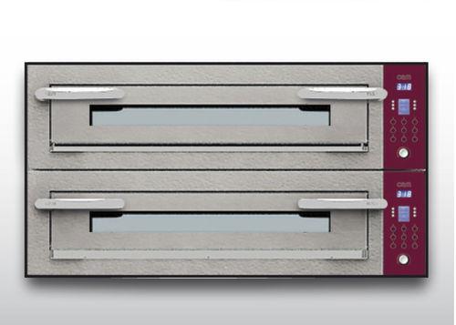 Horno para uso profesional / eléctrico / para pizzas / con 2 cámaras OPTYMO CONCEPT: 935/2 CEMENT OEM - Pizza System