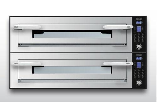 Horno eléctrico / para uso profesional / para pizzas / con 2 cámaras OPTYMO CONCEPT: 935/2 INOX OEM - Pizza System