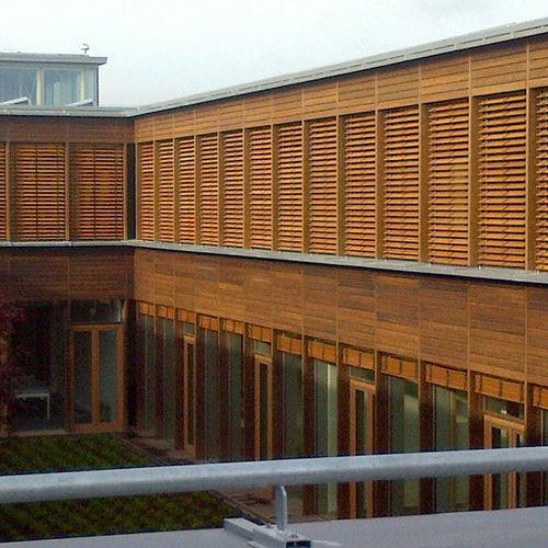 persiana veneciana / de madera / de exterior / para el sector servicios