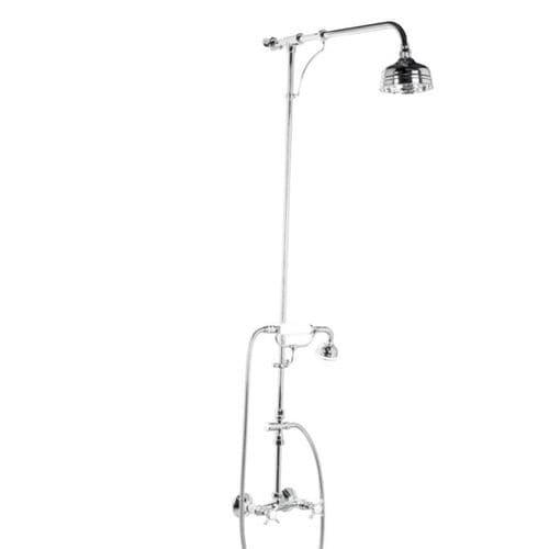 set de ducha de pared / clásico / con alcachofa