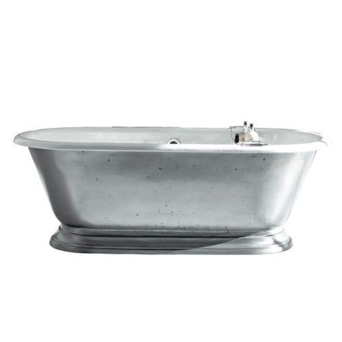 bañera independiente / ovalada / de hierro fundido