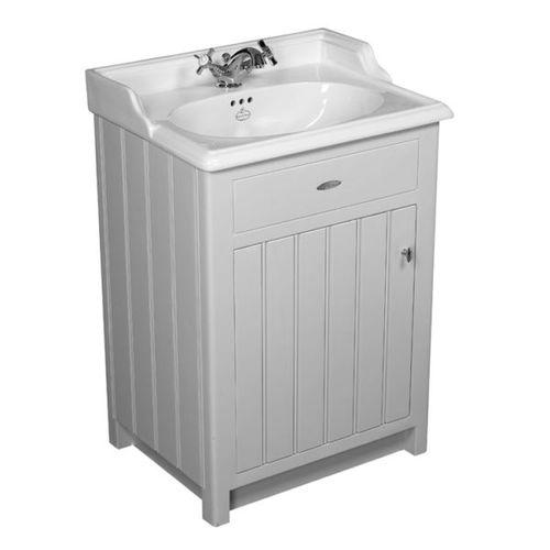 mueble de lavabo de pie / de madera maciza / de MDF / clásico