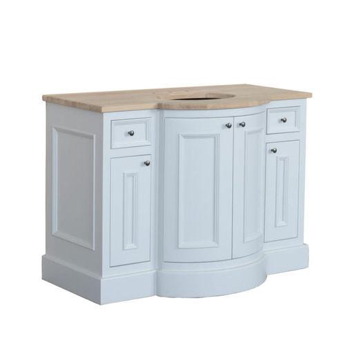 mueble de lavabo de pie / de roble / de mármol / clásico