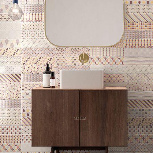 baldosa de interior / de pared / de cerámica / 25x75 cm