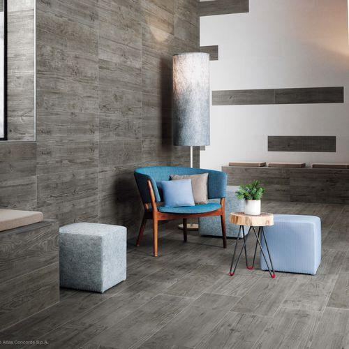 baldosa de interior / para pavimento / de gres porcelánico / mate