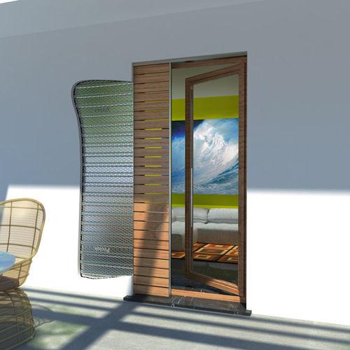 Contraventanas empotradas / de madera / para puertas PROTEK