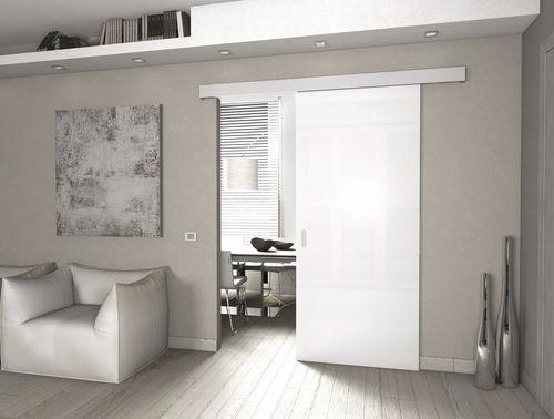 Sistema de fijación de aluminio / para puerta / corredero / sobre carril LIBBRY PROTEK