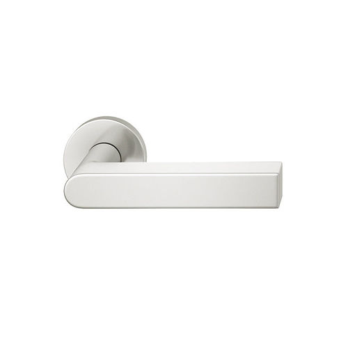 manilla para puerta / de aluminio / moderna / para edificio público