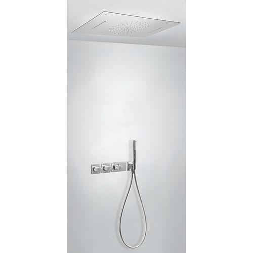 set de ducha empotrable de pared / empotrable de techo / moderno / con alcachofa