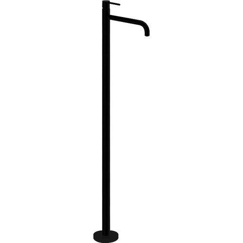 grifo monomando para lavabo / para suelo / de metal cromado / de baño