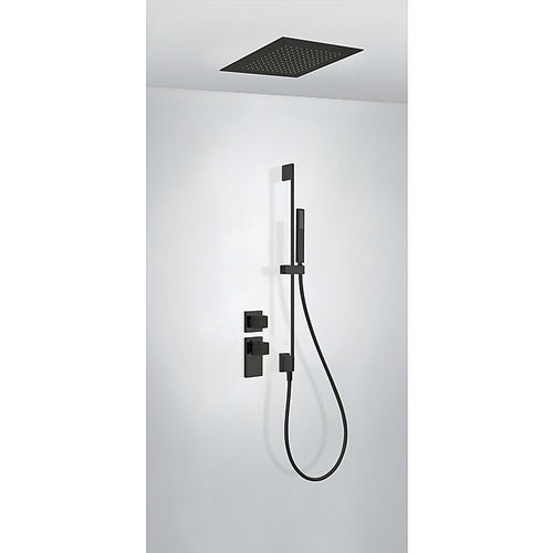 set de ducha empotrable de techo / de pared / moderno / con alcachofa