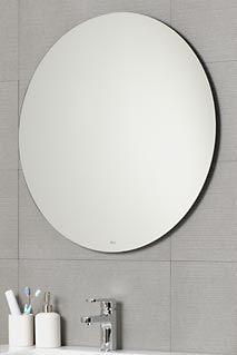 Espejo Para Bano De Pared Moderno Redondo Dica - Espejos-redondos-para-baos