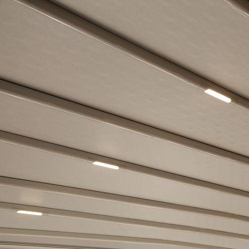 luminaria empotrable / LED / lineal / redonda