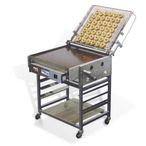 mesa de preparación para glasear bollería / de acero inoxidable / móvil