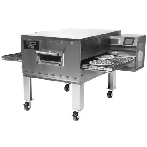 horno eléctrico / profesional / con transportador / para pizzas