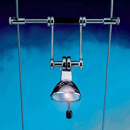 Iluminación sobre cable halógena / redonda / de metal / de interior TZ.1 Shopkit