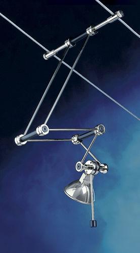 Iluminación sobre cable halógena / redonda / de metal / de interior TZ.4  Shopkit