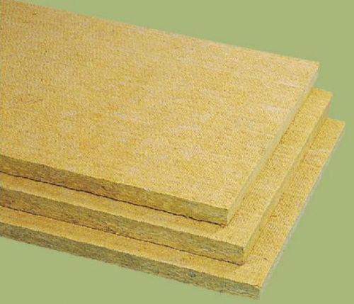 aislante termoacústico / de lana de roca / tipo panel rígido / clase A1