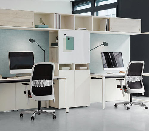 armario de oficina alto / moderno
