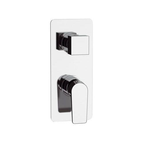 grifo monomando para ducha / encastrable / de metal cromado / de latón cromado