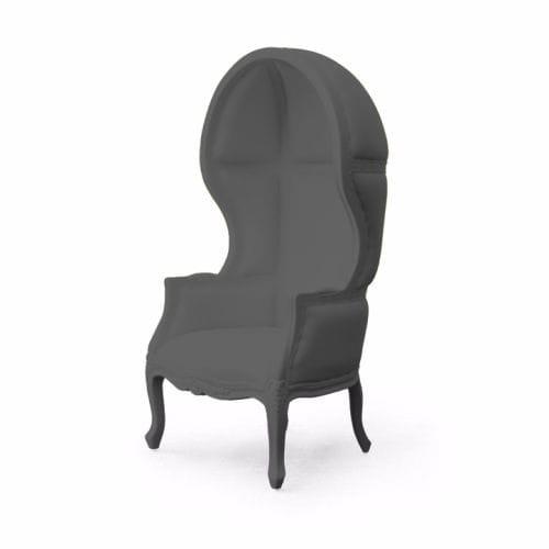 sillón de diseño nuevo barroco / de poliuretano / con respaldo alto / de exterior