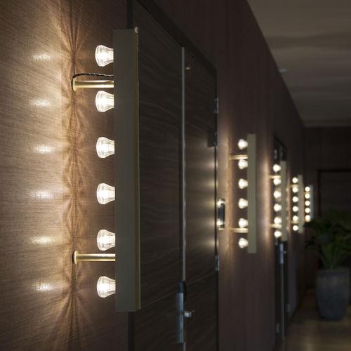 aplique moderno / de aluminio anodizado / LED / lineal