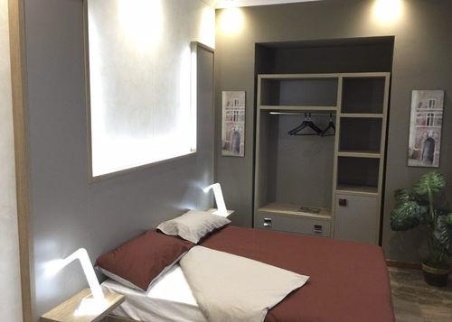 habitación de hotel moderna