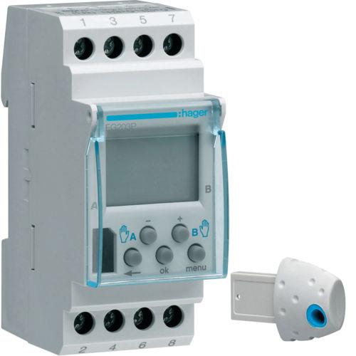 Programador para calefacción / en riel DIN EG103P Hager
